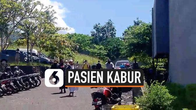 VIDEO: Viral Rekaman 10 Pasien Covid-19 di Ternate Kabur