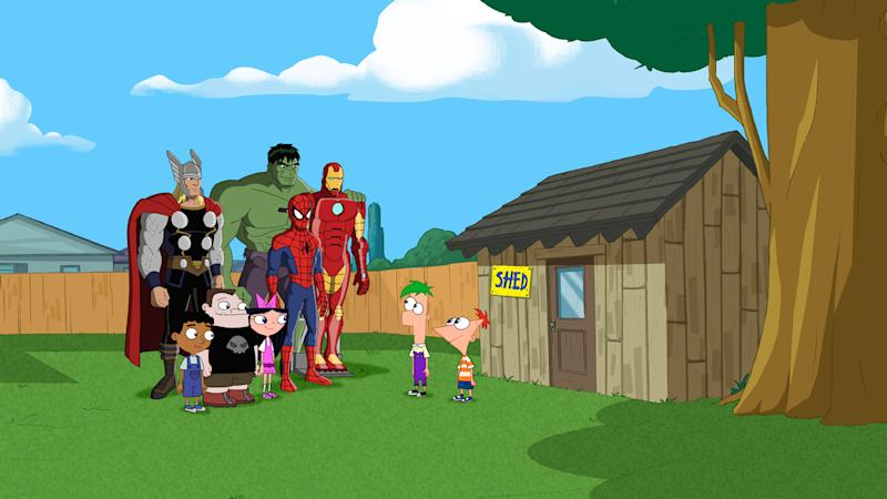 D23 Expo Lines up Disney Channel Stars, 'Phineas and Ferb: Mission Marvel'