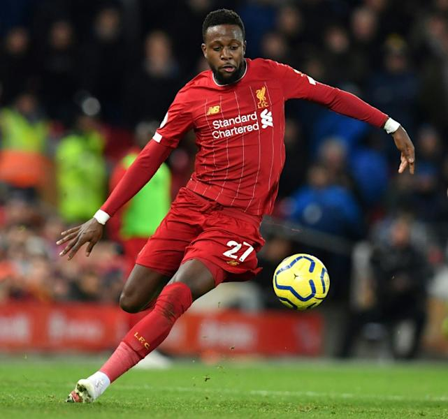 Divock Origi scored twice as Liverpool beat Everton 5-2 at Anfield