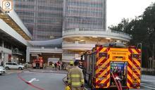 威爾斯醫院大樓建築材料起火 病人毋須疏散