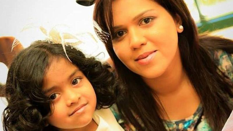 Manik Suriaaratchi and her daughter Alexendria are among those killed in the Sri Lanka bomb attacks. Source: AAP