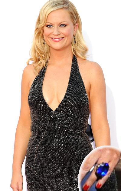 Meaning behind Amy Poehler's red carpet ring