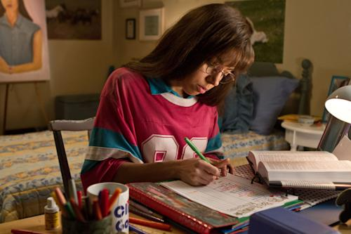 "This film publicity image released by CBS Films shows Aubrey Plaza portraying Brandy Klark in a scene from ""The To Do List."" (AP Photo/CBS Films, Sam Urdank)"