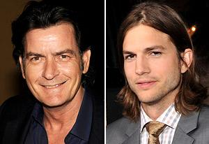 Charlie Sheen Apologizes to Ashton Kutcher for Bashing His Two and a Half Men Role