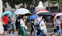 今日天氣/雨快停了 桃園以南高溫飆36℃