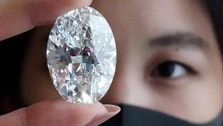 鑽石稀品網上賣 肺炎疫情中匿名買家1600萬美元「撿便宜」