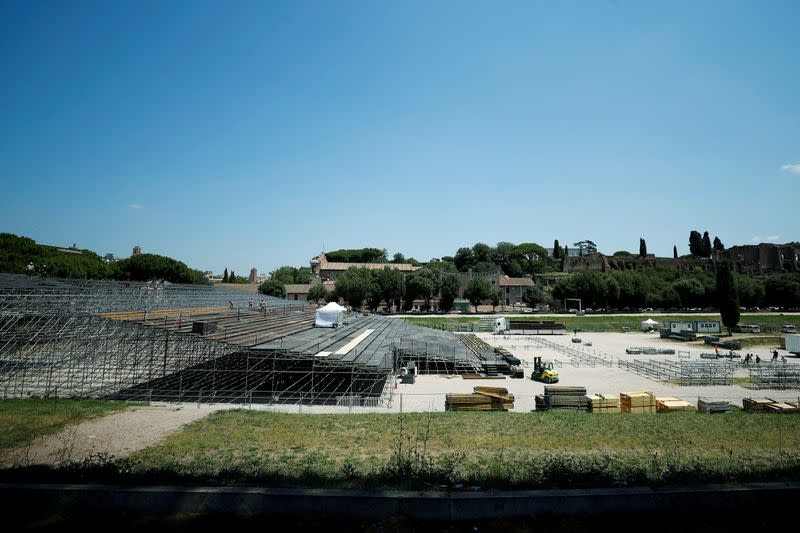 From chariot racing to opera - Verdi comes to Rome's Circus Maximus