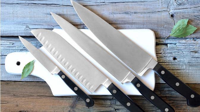 Memilih pisau yang benar dapat membuat makanan jadi terasa lezat. Kok bisa?