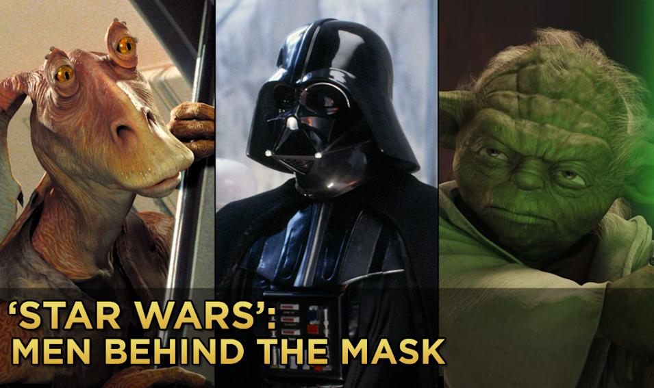 Star Wars Men Behind the mask title card