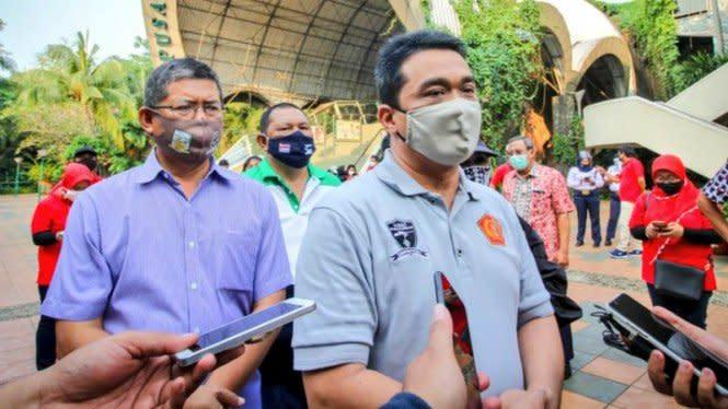 DPRD DKI Bahas Penanganan Banjir dengan Risma, Wagub Riza Merespons