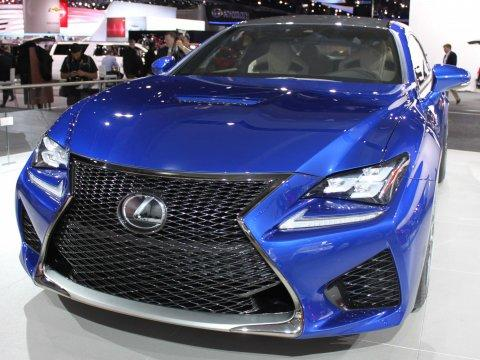 Lexus Put A Spectacular Grille On Its New Performance Coupe