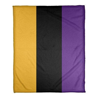 East Urban Home Los Angeles Basketball Fleece Blanket Fleece Microfiber In Gold Black Purple Size 60 W X 80 L Wayfair Yahoo Shopping