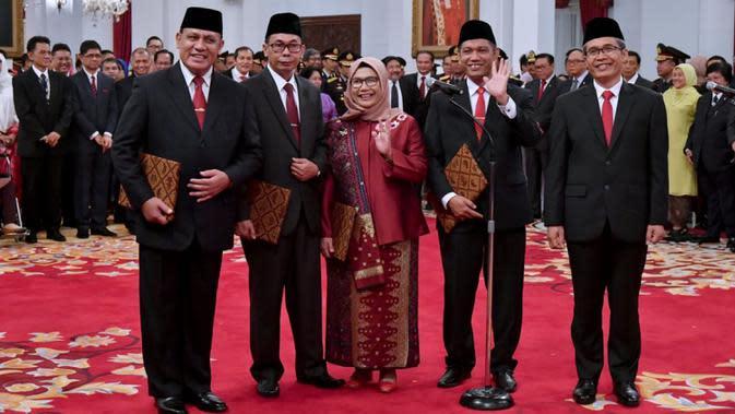 KPK Siap Tuntaskan 20 Kasus Korupsi yang Masih dalam Penyelidikan