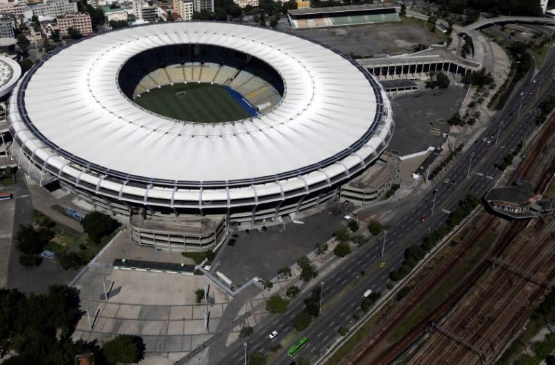 Brazil's Maracana stadium tapped to serve as coronavirus hospital