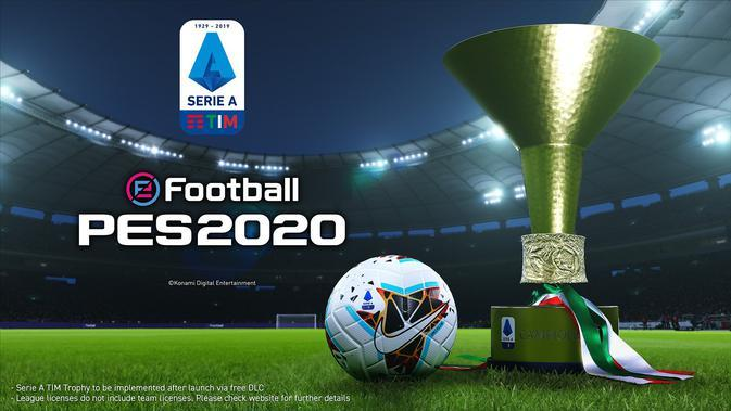 Lisensi Serie A untuk eFootball PES 2020. Doc: eFootball PES
