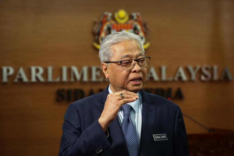 Senior Minister Datuk Seri Ismail Sabri Yaakob is pictured at Parliament in Kuala Lumpur July 23, 2020. — Picture by Yusof Mat Isa