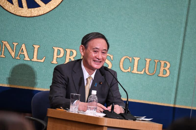 Japan's Suga says no limit to bonds government can issue
