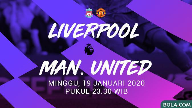 Premier League - Liverpool Vs Manchester United (Bola.com/Adreanus Titus)