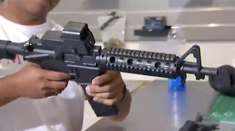 Gelblaster toy rifles could be banned in Queensland