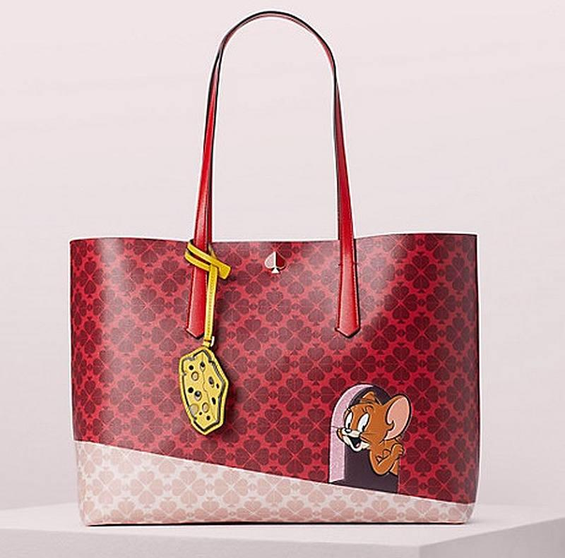 Kate Spade teams up with Tom & Jerry for the brand's Lunar New Year collection. — Picture from Kate Spade