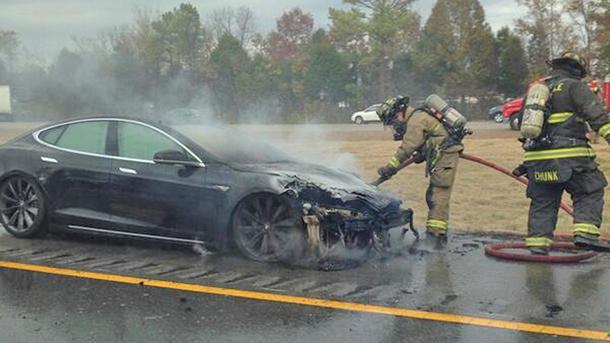 Third Tesla Model S fire raises fresh questions, NHTSA query