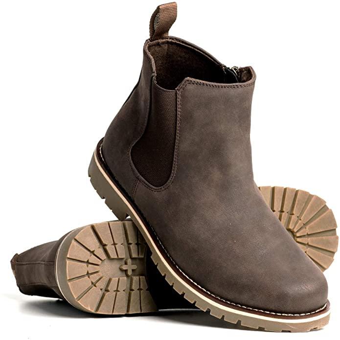 Blackwell Mens Chandler Vegan Leather Boot. Image via Amazon.