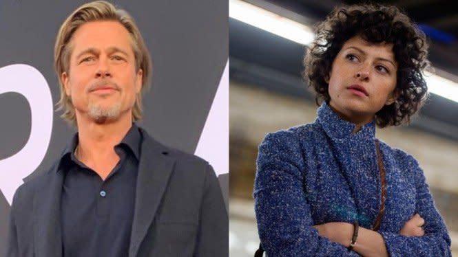 Tepis Isu Kencani Brad Pitt, Alia Shawkat: Kita Berteman