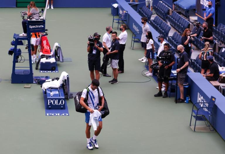 Novak Djokovic 'extremely sorry' after US Open disqualification
