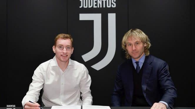 Dejan Kulusevski resmi gabung Juventus