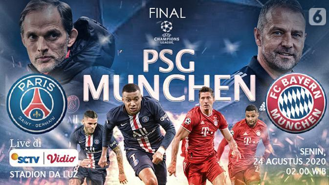 PSG VS Bayern Munchen (Liputan6.com/Abdillah)
