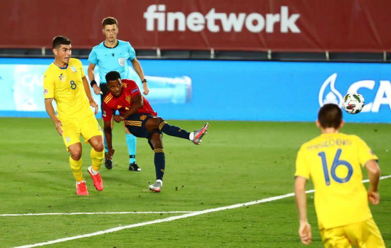Sensational Ansu Fati blows Spain coach Luis Enrique away
