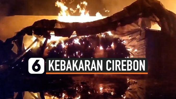 VIDEO: Kebakaran Gudang Peralatan Tambak