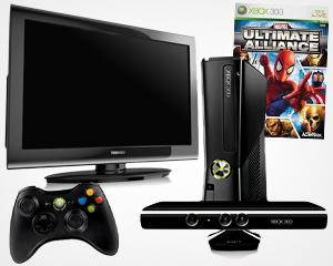 Win an Xbox 360 with Kinect and a Toshiba LCD TV from H2 and Yahoo! TV