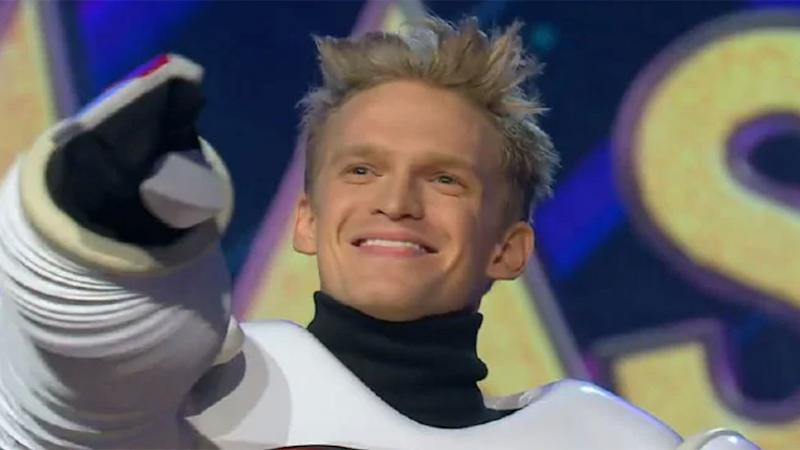 Cody Simpson revealed as Robot on The Masked Singer Australia