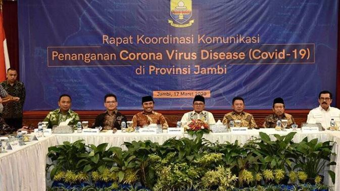 ODP dan PDP Bertambah, Pemprov Jambi Kucurkan Rp11 Miliar Penanganan Corona Covid-19