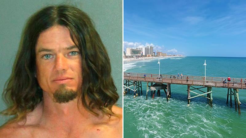 Florida man has been arrested on child abuse charges after he threw his child in the ocean to teach him how to swim. Source: AP / Getty