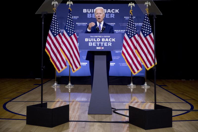 Election 2020 Joe Biden Black Voters