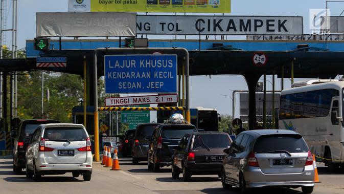 331.216 Kendaraan Masuk Jakarta hingga H+2 Idul Adha 2020