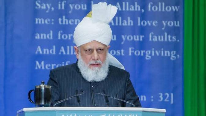 Khalifah Muslim Ahmadiyah, Hadrat Mirza Masroor Ahmad, A.T.B.A. (Dok Ahmadiyah)