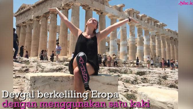 Pengalaman Keliling Eropa Dengan Satu Kaki