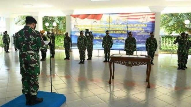 VIVA Militer : KSAL memimpin upacara Sertijab Pati TNI AL