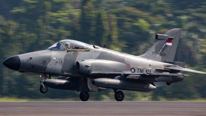 Pesawat Hawk 209 AU Punya Sejarah Lawan GAM Hingga Usir Jet Australia