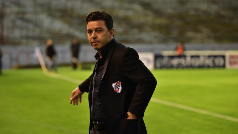 River Plate coach Gallardo disputes Barcelona rumours