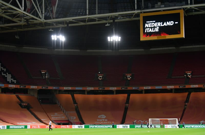 Dutch football reluctantly accepts ban on spectators