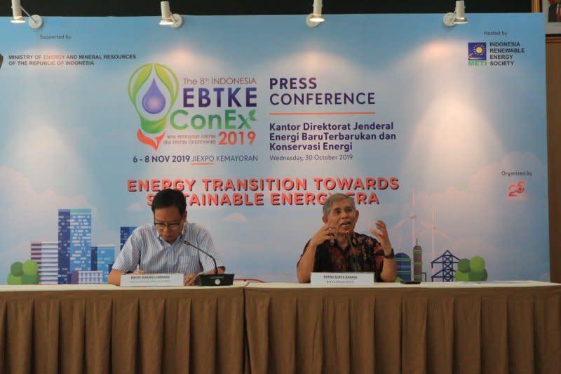 Menteri ESDM : pemanfaatan EBT baru 8 persen