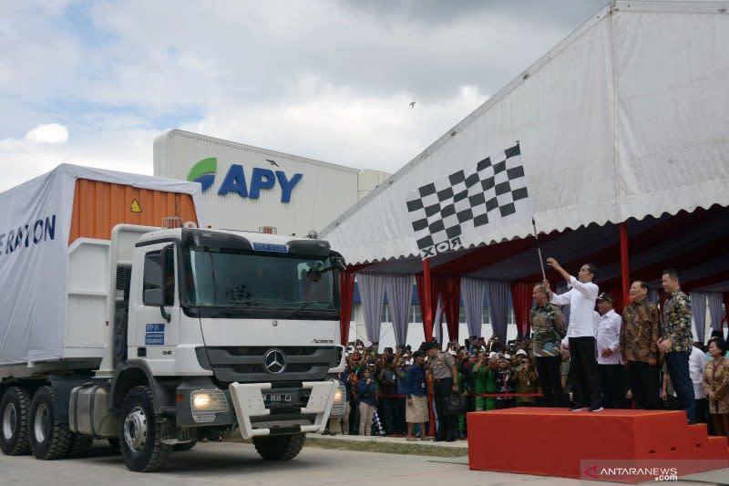 Ekspor Riau Januari-April naik 7,88 persen