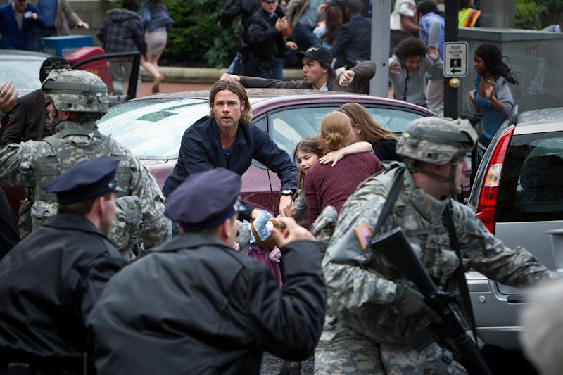 'World War Z' to Open Moscow Fest