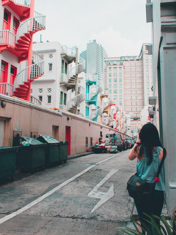 Bugis Street, Singapura. (dok. unsplash @lvnatikk)