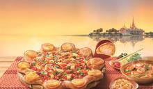 鋪滿香菜!必勝客「冬蔭功」披薩來了