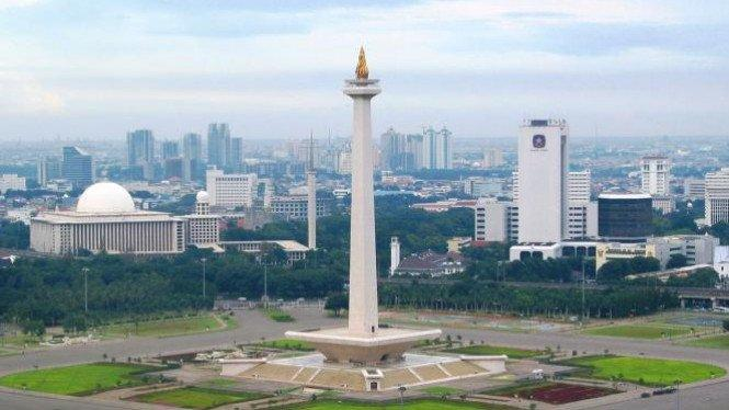 Cerah Pagi Ini, 2 Wilayah Jakarta Diselimuti Awan Tebal Siang Nanti